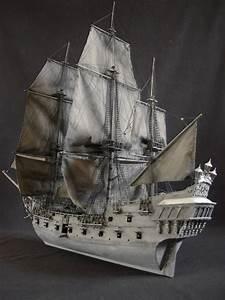 ZHL model ship kits 2010 Black Pearl model ship KM01-in ...