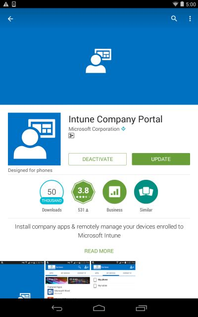 Office 365 Mail For Android by Office 365 Mobile Device Management Enrolment For Android