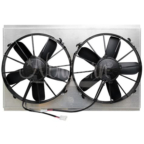 dual electric fans with shroud northern factory dual 12 quot electric fan shroud 15 x