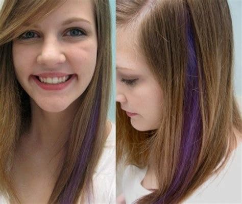 A Manic Panic Experiment Purple Hair Streak This Is For