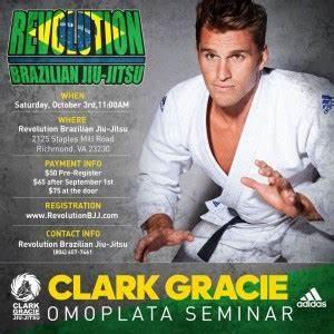 SOLD OUT Clark Gracie Omoplata Seminar at Revolution BJJ ...