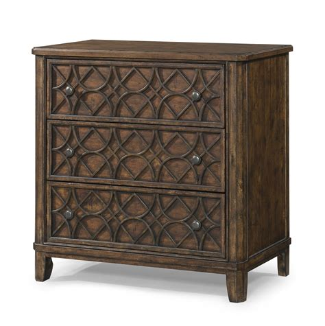 klaussner trisha yearwood home gwendolyn  drawer accent