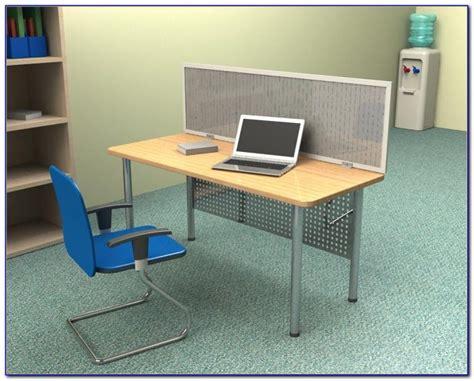 privacy shields  student desks desk home design