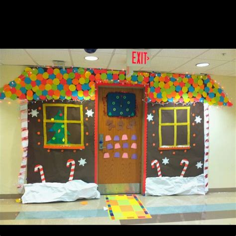 college christmas this is how we decorated our room door for the
