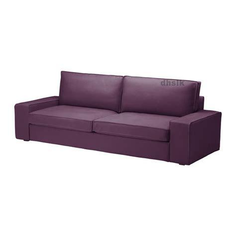 Ikea Kivik Sofa Bed Slipcover Sofabed Cover Dansbo Lilac