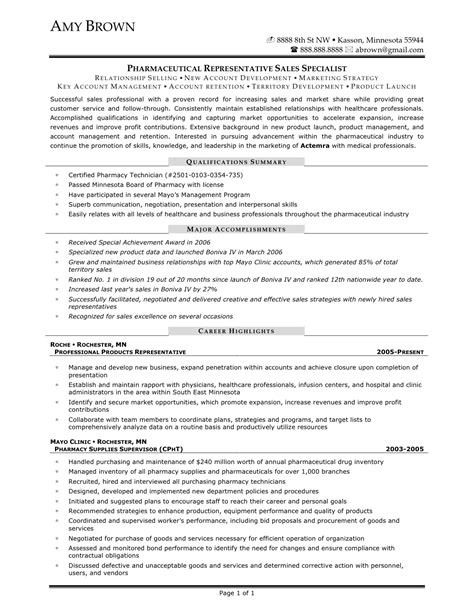 Pharmaceutical Sales Qualifications Resume by Pharmaceuticals Sales Resume Sales Sales Lewesmr