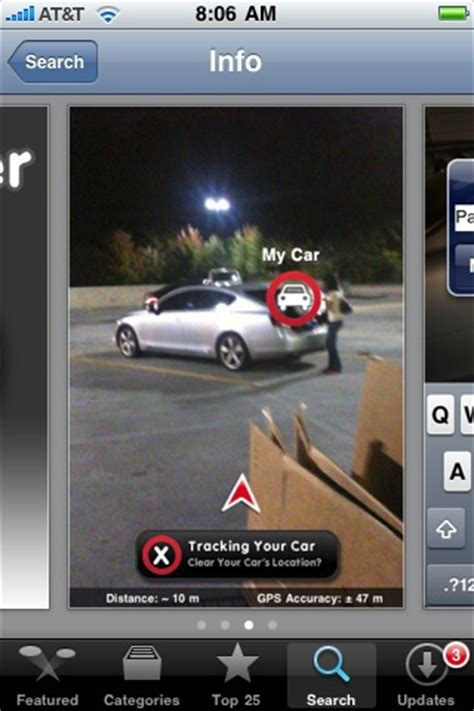 Find My Car Apps For Iphone by Just In Time For Shopping Season Car Finder For The Iphone