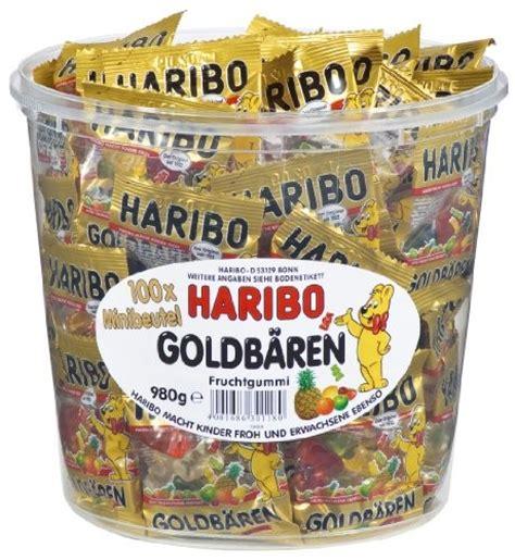 Haribo Goldbären Mini Beutel Fruchtgummi 100 Stück