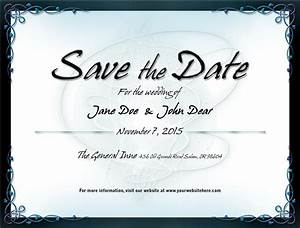 wedding save the date template 1 by mikallica on deviantart With wedding save the date email template