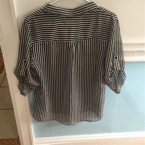 chicos white blouse 87 chico 39 s tops chicos sheer black and white
