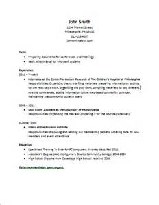 do you use person in a resume building experiences and developing a resume center for