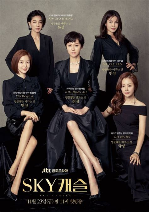 sky castle korean drama  sky  hancinema