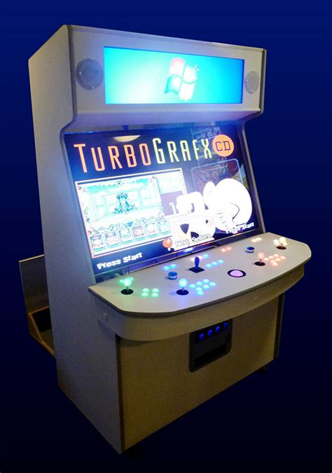 arcade cabinet plans 32 lcd best arcade cabinet has 55 inch screen plays