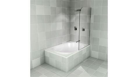 Buy Decina Cascade Shower Pivot Panel   Harvey Norman AU