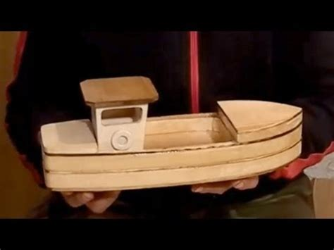 How To Build A Boat Toy by Wood Toy Plans Stojanovic Fishing Boat Youtube