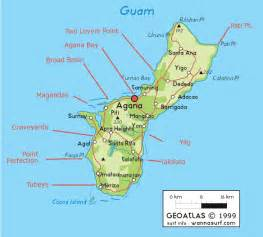 Micronesia and Guam Map