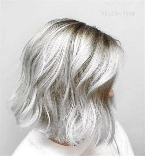 22 Incredible Silver Hair Color Ideas in 2018