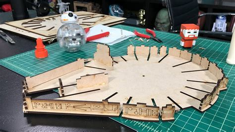 laser cut l kit tested builds laser cut millennium falcon kit