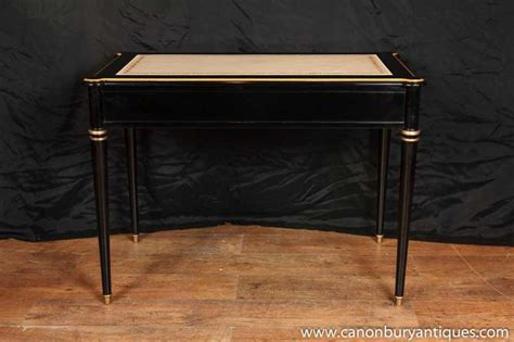 tables bureau regency lacquer desk writing table bureau plat