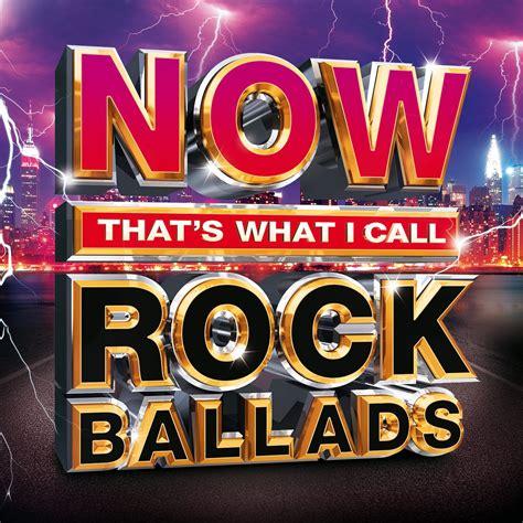 call rock ballads
