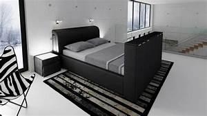Vernon Lit Design En Cuir Un Lit Moderne Avec Rangement