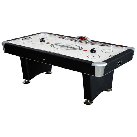 7 air hockey table hathaway stratosphere 7 5 ft air hockey table with