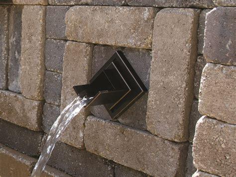 bronze finish verona wall spout atlantic water gardens