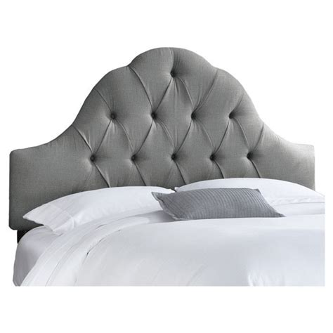 joss and tufted headboard grey tufted headboard bed time
