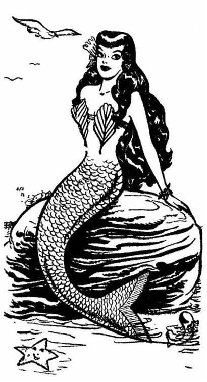 Mermaid Tattoo Mermaids Drawings Keene Tattoos Katy