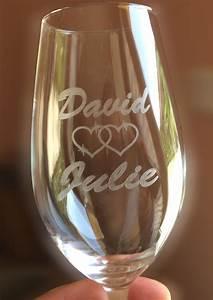 Verre A Champagne : fl te champagne personnalis verres grav s avec vos pr noms mv 3d ~ Teatrodelosmanantiales.com Idées de Décoration