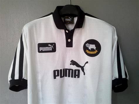 Derby County Home football shirt 1997 - 1998. Sponsored by ...