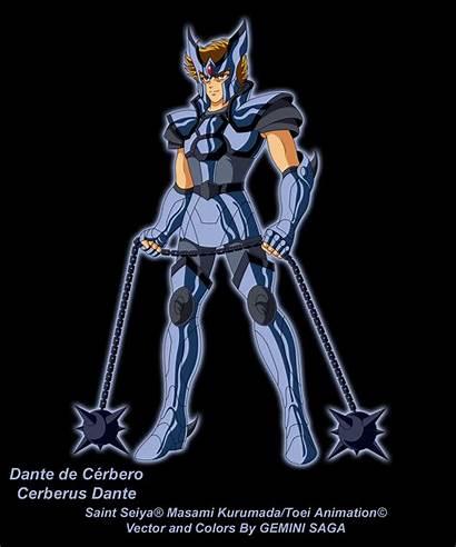 Dante Cerberus Saint Gemini Seiya Fanarts Saga