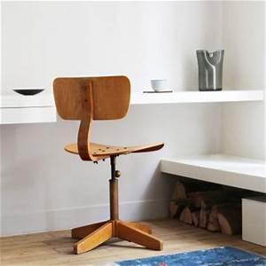 Chaise De Bureau Vintage : 5 chaises de bureau r tro menuiserie parquet babin ~ Teatrodelosmanantiales.com Idées de Décoration
