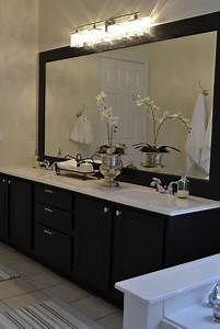Remodelaholic best paint colors for your home black for Best brand of paint for kitchen cabinets with santa framed wall art