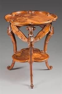 Art Nouveau Mobilier : mile gall nancy 1846 nancy 1904 gu ridon to ~ Melissatoandfro.com Idées de Décoration