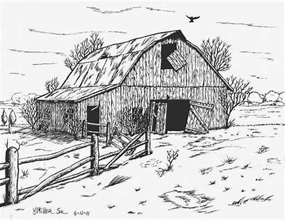 Barns Pencil Barn Abandoned Drawing Deviantart Drawings