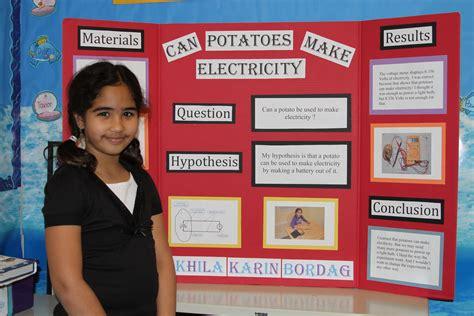 Green Elementary School Science Fair Inspires Student