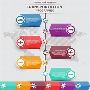 Transportation vector infographic labels design Vector ...