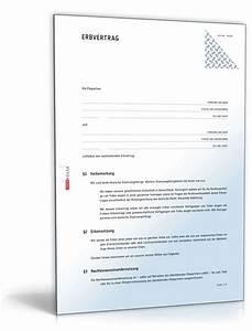 Nießbrauch Haus Verkaufen : erbvertrag ehepartner muster zum download ~ Lizthompson.info Haus und Dekorationen