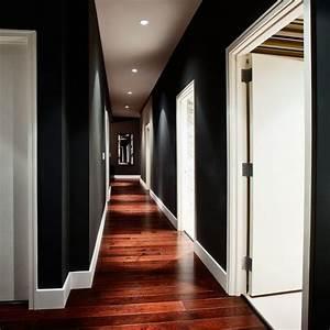 idee deco couloir peinture With attractive couleur peinture couloir sombre 9 conseils deco decoration couloir etroit