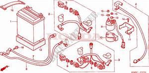 Battery   U0026 39 05  - Fourtrax 250 Recon Electric Shift Trx250te5 2005 Australia