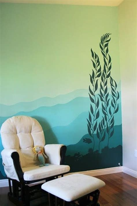 Easy Bedroom Wall Painting Ideas by 40 Easy Wall Painting Designs Wall Decor Forest Mural