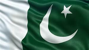 Flag Of Pakistan Beautiful 3d Animation Of Pakistan Flag ...
