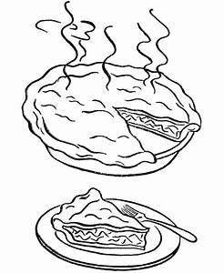 Apple Pie Coloring Pages - AZ Coloring Pages