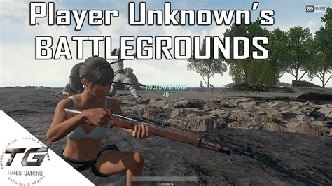 Player Unknown's Battlegrounds!