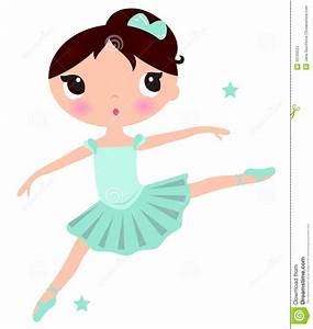 little girl ballerina tutu and slippers clipart - Clipground