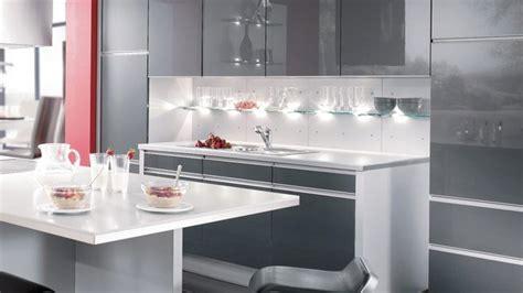 re lumineuse led cuisine l éclairage d une credence le décoration de