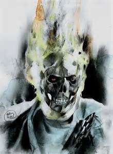 Original Ghost Rider Comic Art