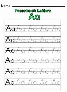 preschool quotaquot practice worksheet has the whole alphabet With learning to print letters