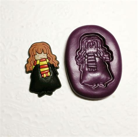 harry potter chibi silicone molds mm simply molds